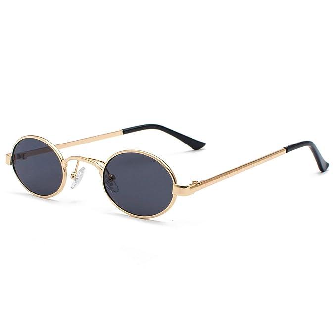 Amazon.com: Gafas de sol ovaladas para hombre con marco ...