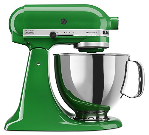 (KitchenAid KSM150PSCG Artisan Series 5-Qt. Stand Mixer with Pouring Shield - Canopy Green )