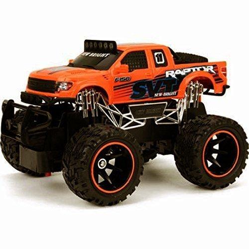 Full Function Radio Control - New Bright 1:24 Radio Control Full-function Ford Raptor, Orange