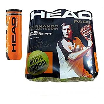 Head Tornado Graphene - Lote de Pelotas, Color Amarillo, 6 DZ ...