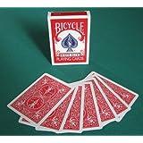 BICYCLE(バイスクル) ダブルバック 赤 トリックカード マジック