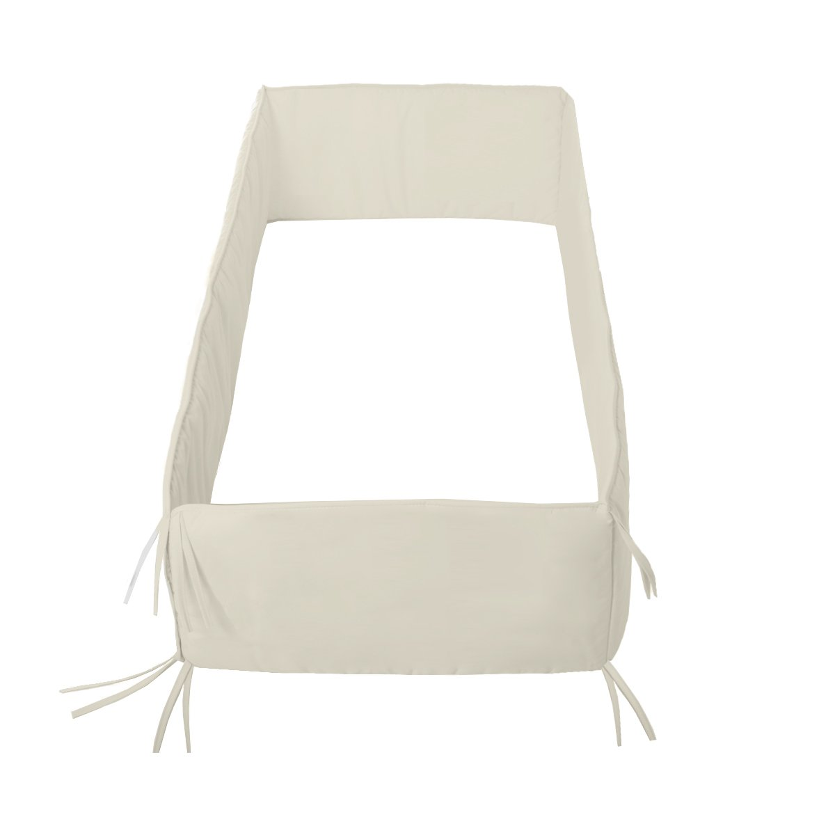 Cambrass Liso E - Protector de cuna 360, color beige product image