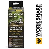 Official Replacement Belt Kit for the Work Sharp Knife and Tool Sharpener Ken Onion Edition