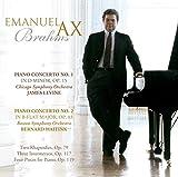 Music : BRAHMS: PIANO CONCERTOS, TWO RHAPSODIES, OP. 79, INTERMEZZOS, OP. 117 & OP. 119