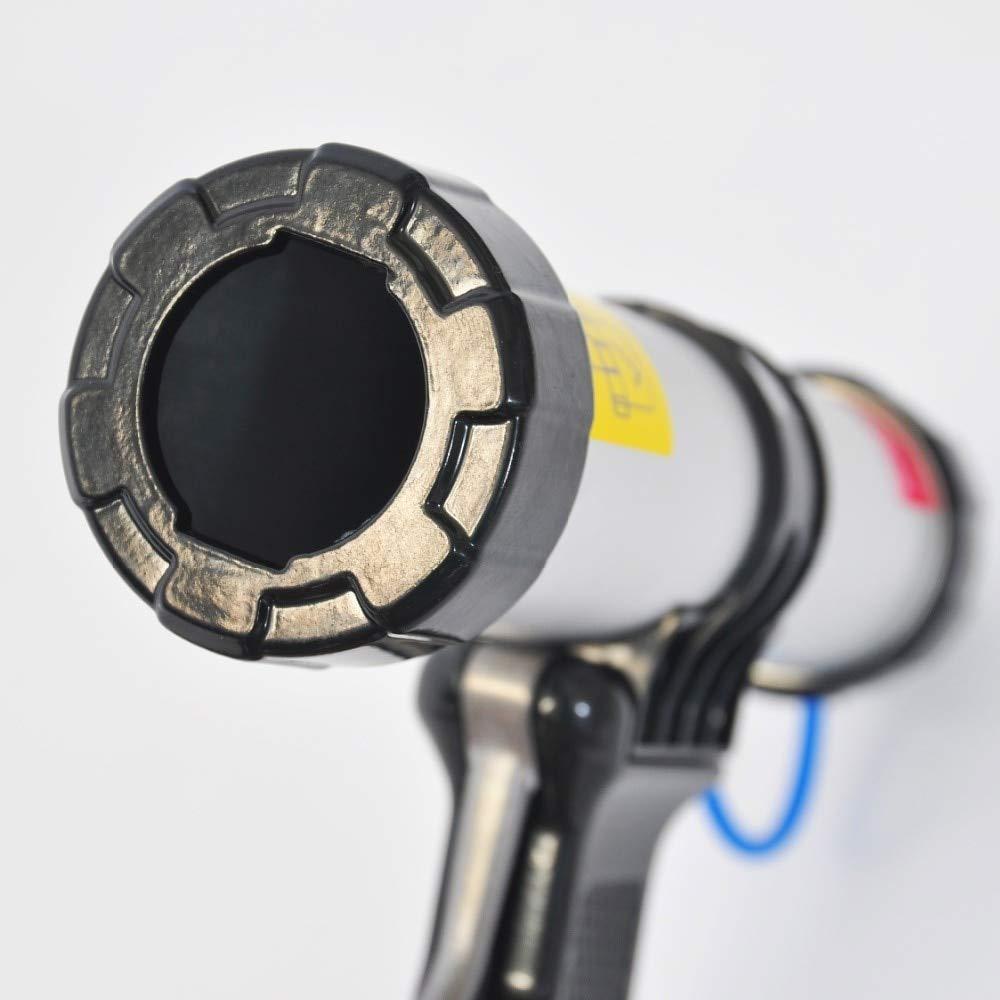 Caulking Gun Construction Tools 450ml Sausage Caulking Gun Air Pneumatic Sealant Gun Silicone Pistol With Pistons Adhesive Gun Kit Joint Seal Construction Tools