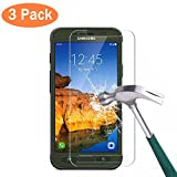 [ 3 Pack ] Galaxy S7 Active Screen Protector, Asstar 9H Hardness 2.5D Tempered Glass Bubble-Free Screen Protectors for Samsung Galaxy S7 Active (Not S7 and S7 Edge) (3 Pack)
