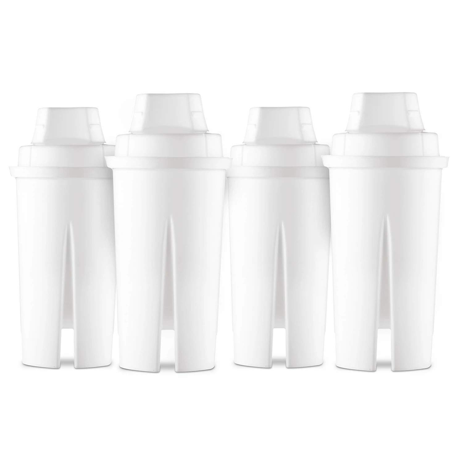 Up&Up Universal Replacement Water Filters, 4 Pack. Fits All Pur and Brita Pitchers (Except Stream).
