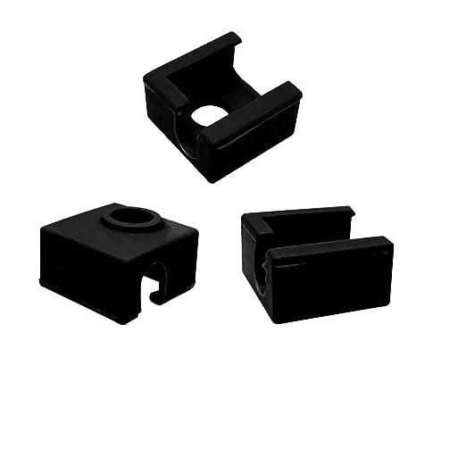 Carcasa de silicona para impresora 3D MK7 MK8 MK9 Hotend para ...