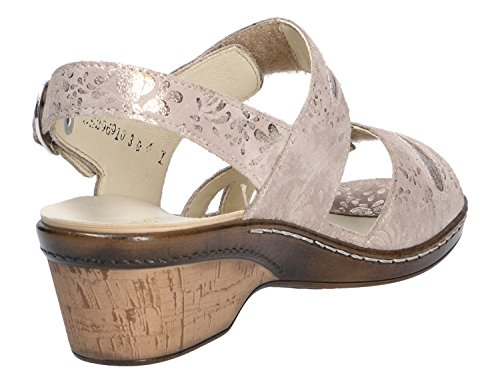 Waldlaufer Womens Hetta Sandals 547002 206 102 Gold fYmevWNaO