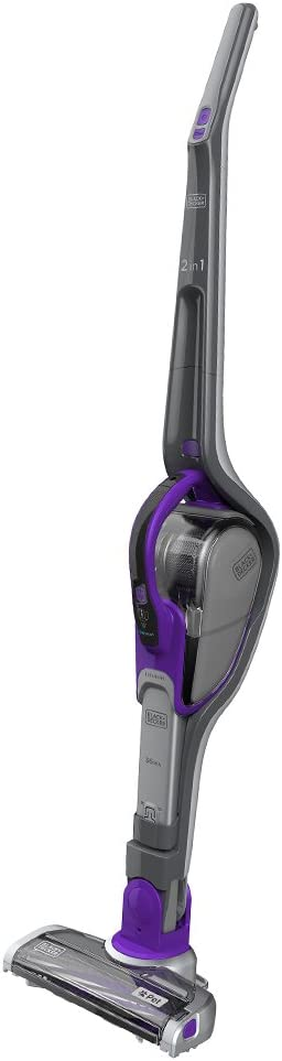 BLACK+DECKER 18 V Lithium-Ion 2-in-1 Dustbuster Hand Vacuum with Floor Extension 36 Wh
