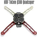 HAPPYMODEL DIY FPV Across Frame HMF Totem Q380 380mm Multirotor Mini Quadcopter Kit Lightweight High Strength Better than F330