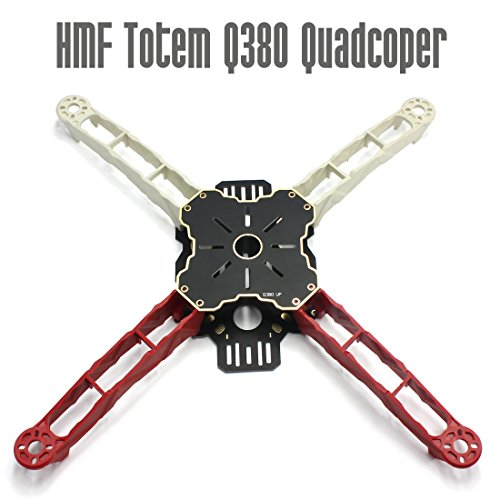 HAPPYMODEL DIY FPV Across Frame HMF Totem Q380 380mm Multirotor Mini Quadcopter Kit Lightweight High Strength Better than F330