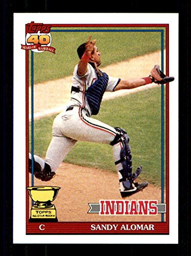 2005 Topps Rookie Cup Reprints #75 Sandy Alomar Jr. 1991 CLEVELAND INDIANS