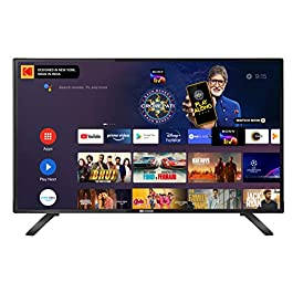 Kodak 80 cm/32 Inches HD Certified Android LED 32HDX7XPRO 2020 Model Smart TV (Black)