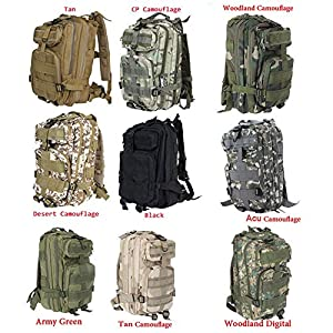 Amazon.com : Sport Outdoor Military Rucksacks Tactical