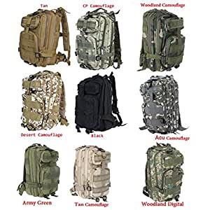 Amazon.com : Sport Outdoor Military Rucksacks Tactical Molle Backpack