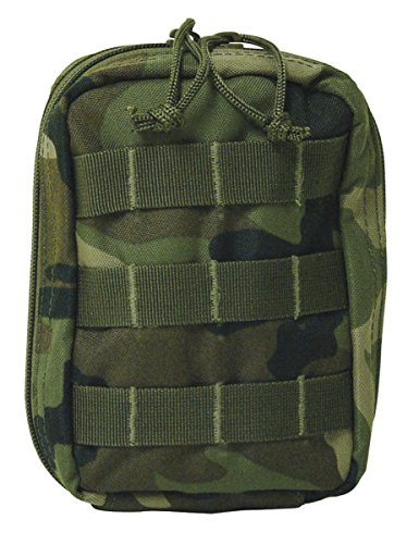 VooDoo Tactical 20-7445005000 EMT Pouch, Woodland Camo