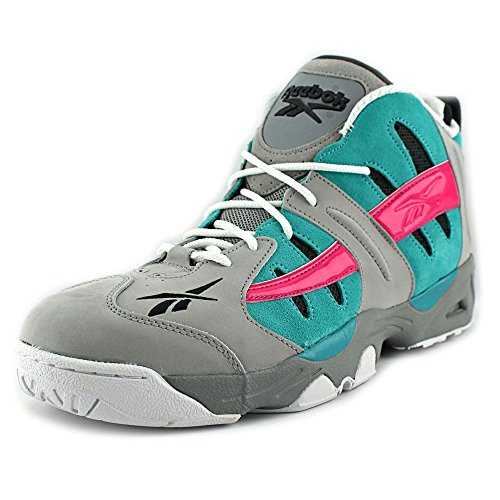 Fusion Shoes Pink Rail Grey Men'S Classic Switch Reebok Tin Basketball Blue pvqwA