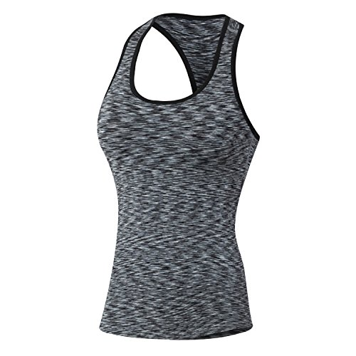 Runbox Women's Activewear Seamless Racerback Compression Tank Top