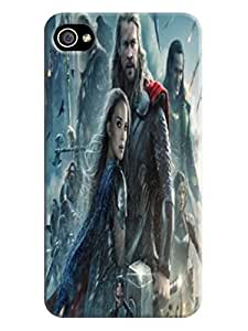 Candy design tpu phone case cover with cartoon for iphone4/4s of Chris Hemsworth Thor in Fashion E-Mall