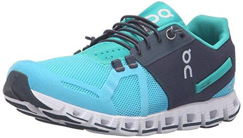 On Womens Running Cloud Sneaker  Atoll Green   7 5 B M  Us