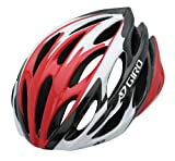 Cheap Giro Saros Bike Helmet, Red/White, Small