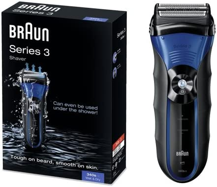 Braun - Afeitadora Series 3-340S-4 utilizable bajo el agua: Amazon ...