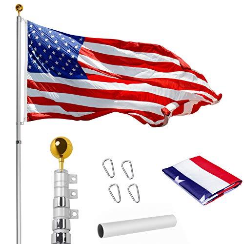 WeValor 20FT Telescoping Flag