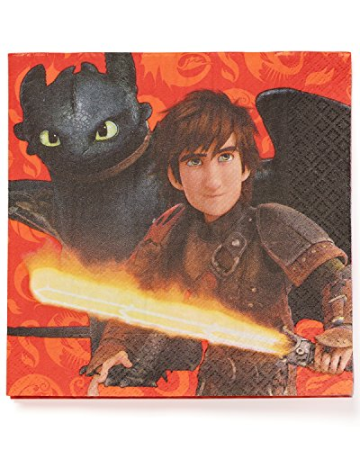 How to Train Your Dragon 2 Luncheon Napkin,