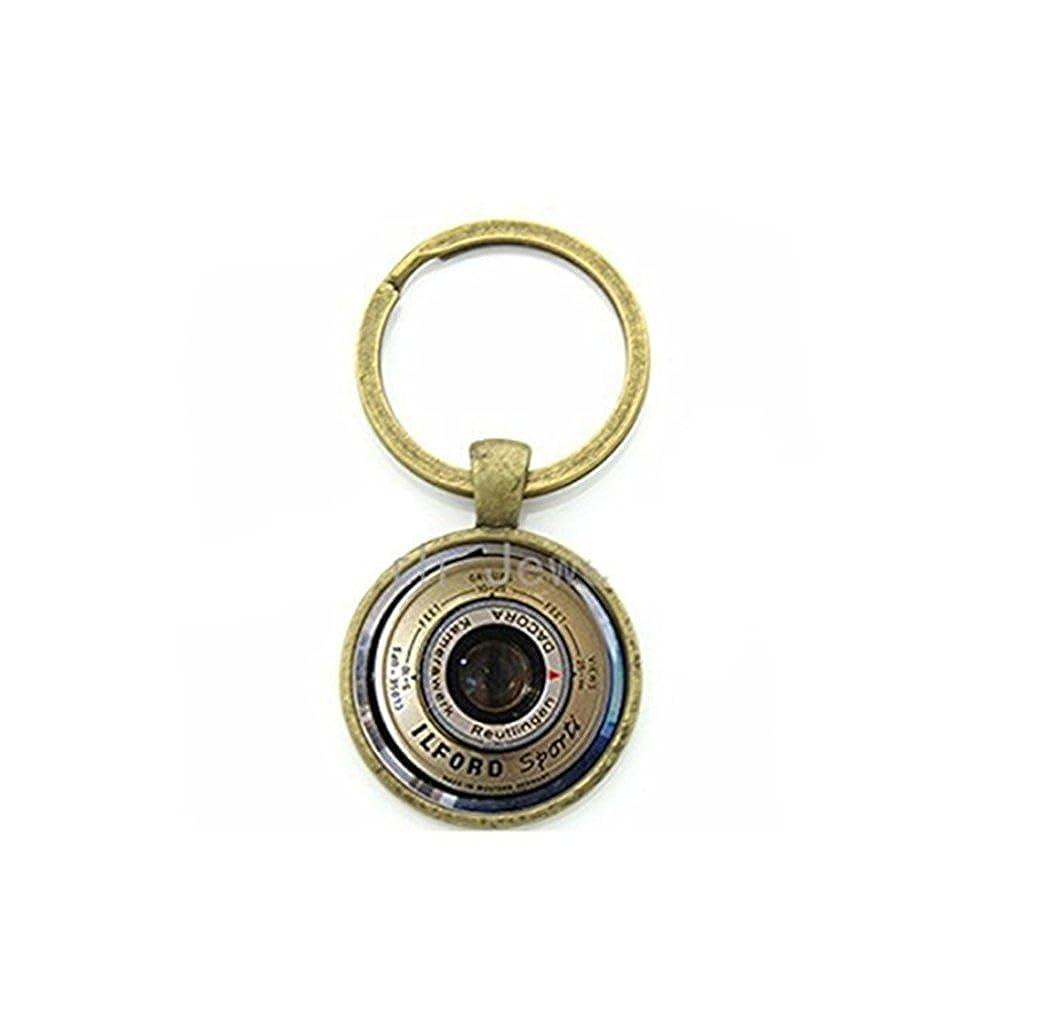 Vintage cámara lente fotógrafo llavero regalos para hombres ...