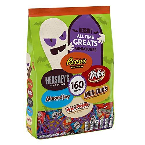 Hershey All Time Greats Halloween Assortment, 160 -