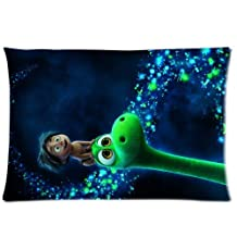 Cartoon the Good Dinosaur Custom Made Personalized Decorative Pillowcase Pillow Sham Pillow Cushion Case Cover Two Sides Printed 20x26 Inches