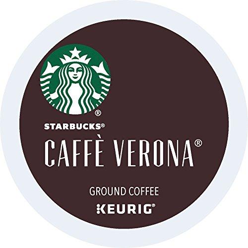 Starbucks Caffe Verona Dark, K-Cup for Keurig Brewers, 24 Count (Packaging May Vary) ()