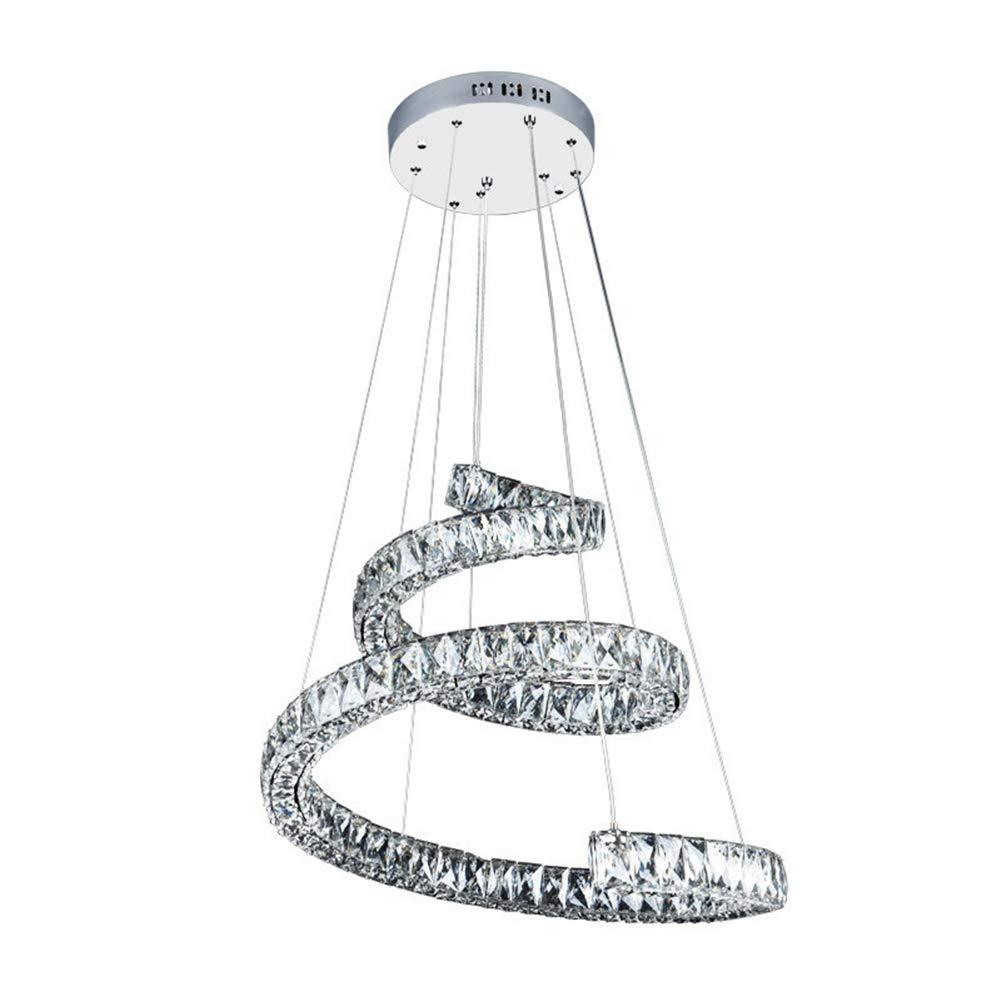 クリスタルシャンデリアフラッシュマウントモダンledシーリング照明用リビングルームホワイエライトホーム照明レストランエントランス廊下、D690 * H1000(mm),Whitelight B07S9ZMQ69 Whitelight