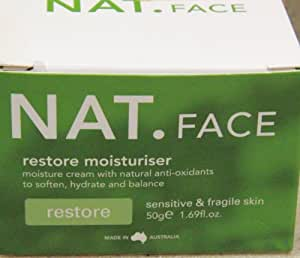 NAT. FACE Restore Moisturiser Cream