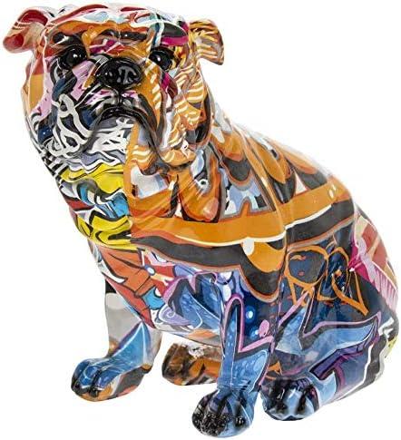 Leonardo Collection Figura Decorativa dise/ño de Bulldog brit/ánico Sentado