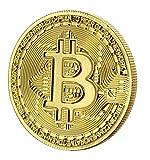 Toynk Bitcoin Collectible|Gold Plated Commemorative Blockchain Coin| Collector's Coin