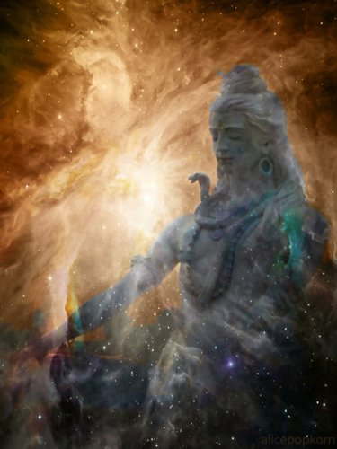 Shiva dreaming – CANVAS OR FINE PRINT WALL ART