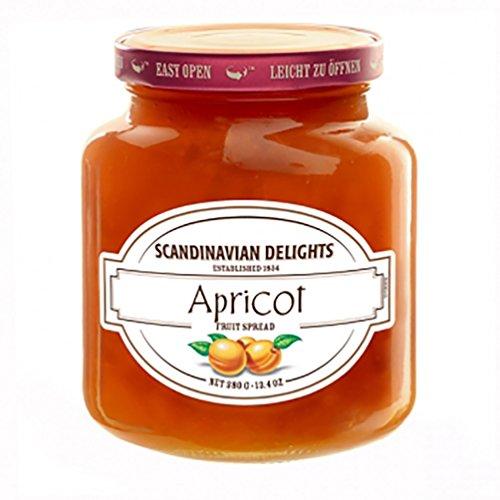 Elki's Gourmet Scandinavian Delights Preserves, Apricot, 13.4 (Gourmet Apricot)