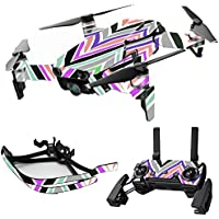 MightySkins Skin for DJI Mavic Air Drone - Colorful Chevron | Max Combo Protective, Durable, and Unique Vinyl Decal wrap cover | Easy To Apply, Remove, and Change Styles | Made in the USA