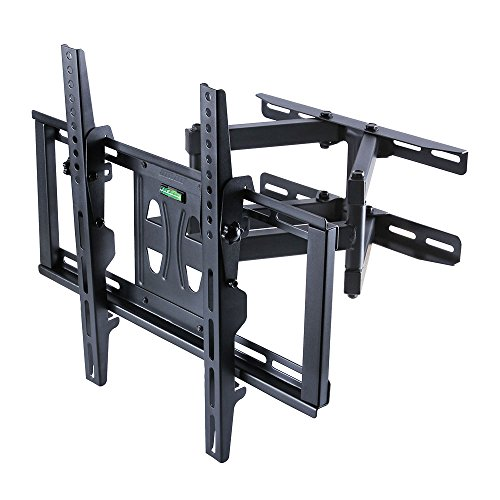 UNHO Dual Arm Full Motion Tilt Swivel TV Wall Mount Bracket upto (Arm Tilting Wall Mount)