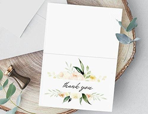 Thank You Cards For Wedding Bridal Shower Baby Shower Thank You
