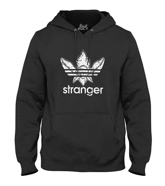 Stranger Things Demogorgon Sudadera Unisex Negro: Amazon.es: Ropa y accesorios