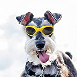 Dog Goggles Sunglasses Waterproof Windproof UV Protection for Small Medium Dogs and Cats