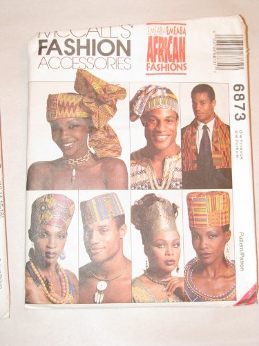 McCall's Fashion Accessories - African Fashions - Pattern 6873 - Hats and - Fashion Mccalls Accessories