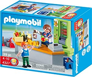 Playmobil 4327 school set school cafeteria for Cuisine playmobil