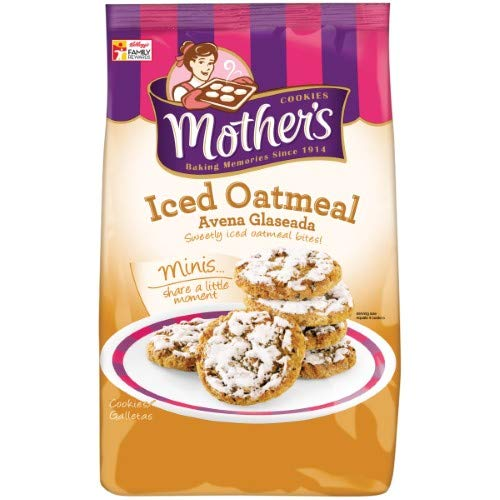 Mother's Iced Cookies Bag, Oatmeal, 12 Ounce