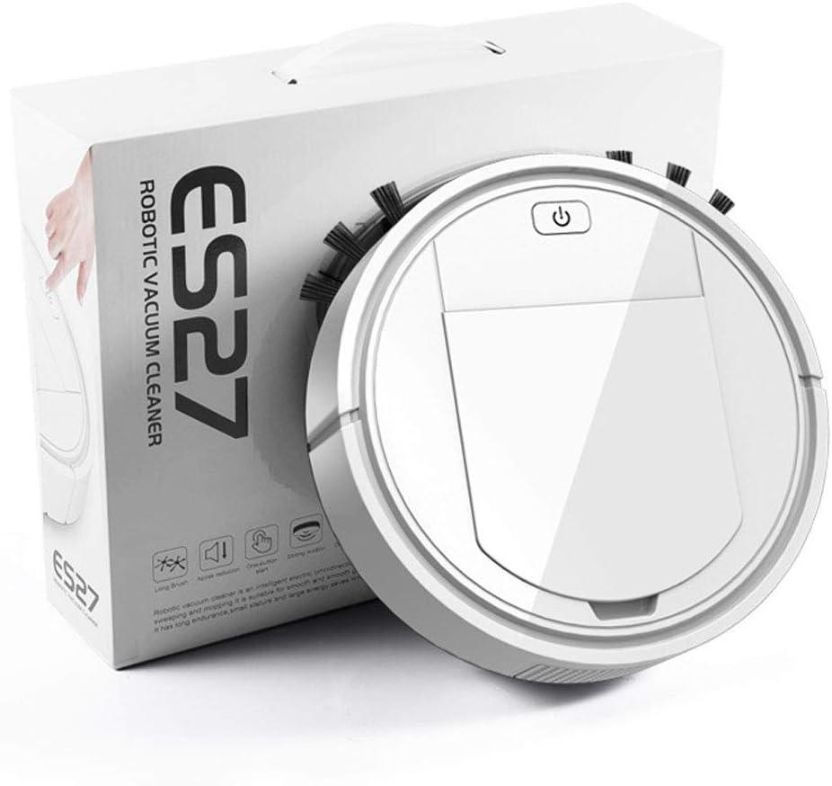 Thumby Machine de Nettoyage Domestique Charge Robot Nettoyeur de Balayage Paresseux à Vide Intelligent Cadeau électroménager jianyu (Color : White) White