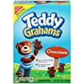 Teddy Grahams Crackers, (Chocolate, 10-Ounce Boxes, 6-Pack) by Teddy Graham