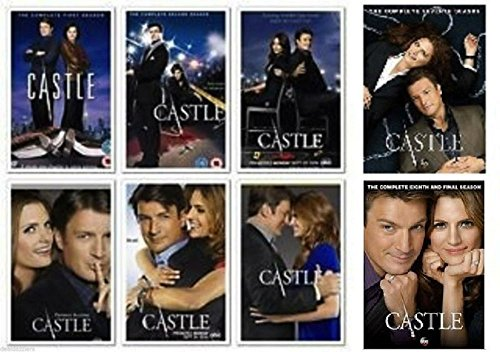 BRAND NEW Castle Seasons 1 - 8 Season 1 2 3 4 5 6 7 8 DvDS
